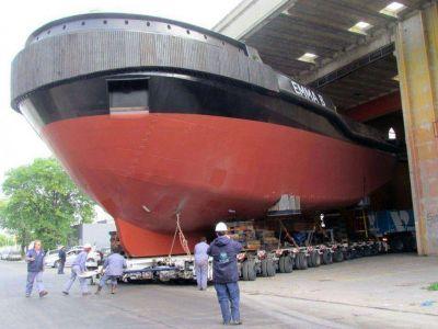 """""""En pocos días se estará entregando el primer remolcador totalmente construido en Mar del Plata"""""""