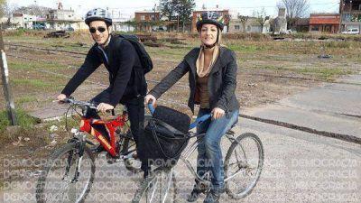 Quieren que en Junín haya carriles exclusivos y guarderías para las bicicletas