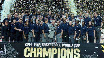 Estados Unidos aplastó a Serbia en la final del Mundial de Básquet