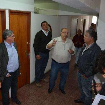 Bosetti y Solorza visitaron las instalaciones de Radio y Televisión Riojana