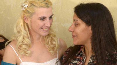 """Marita y Valeria dieron el """"sí"""" en la cárcel"""