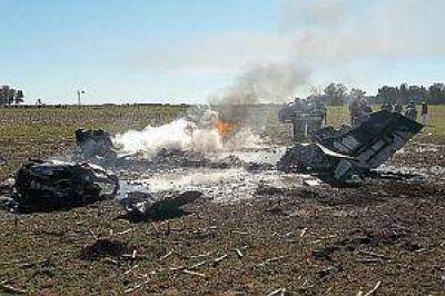 Se estrellan otras dos avionetas: hay dos heridos graves