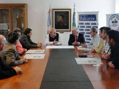 Echeverría recibió a representantes de CAME y FEBA