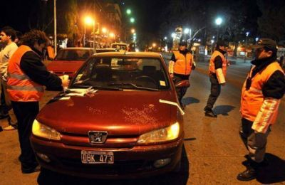 44 motos y 9 automóviles secuestrados el fin de semana