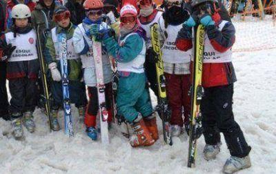"""Provincia retoma el programa """"Esquí Escolar"""""""