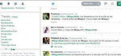 #MilagroSalta fue tendencia en Twitter