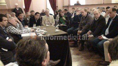Mesa de Enlace presentó un rosario de medidas a legisladore