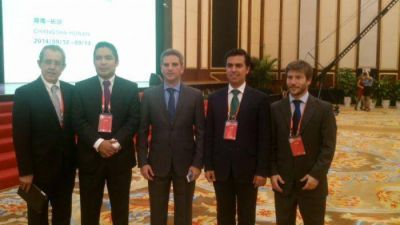 Santiago Bonifatti presentó en China las inversiones marplatenses