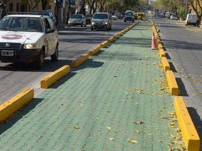 Senetiner quiere trasladar la ciclovía de Juan B. Justo