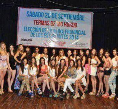 Eligieron las 24 candidatas que aspiraran a Reina Provincial de los Estudiantes