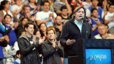 Martini elogió el discurso de Máximo Kirchner y ponderó a La Cámpora