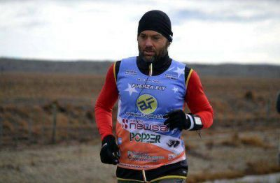 Ultra Maratón 3: Sciurano ya corrió más de 300 kilómetros desde que salió de Ushuaia