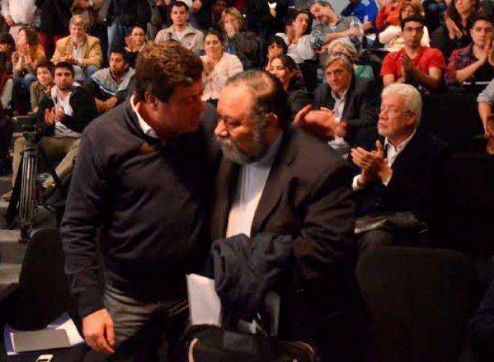"""Carlos Galli, amigo del Papa, consideró """"muy positivas"""" las propuestas de Mariotto en pos de la integración latinoamericana"""