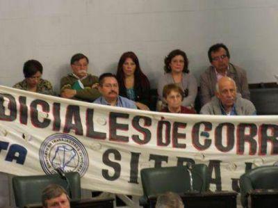 La violencia laboral en la Justicia correntina lleg� al Parlamento