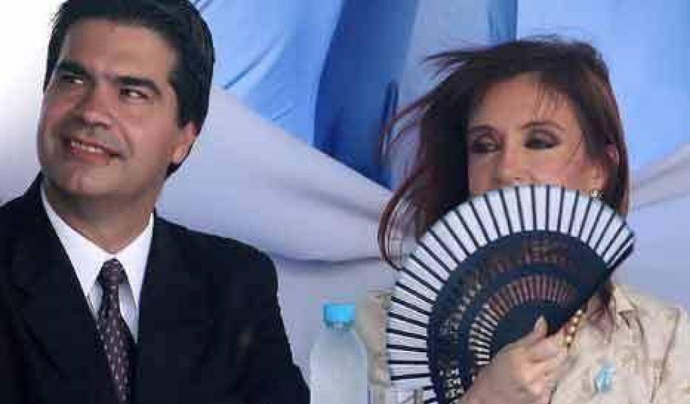 """Capitanich: """"La conducción del PJ la ejerce Cristina"""""""