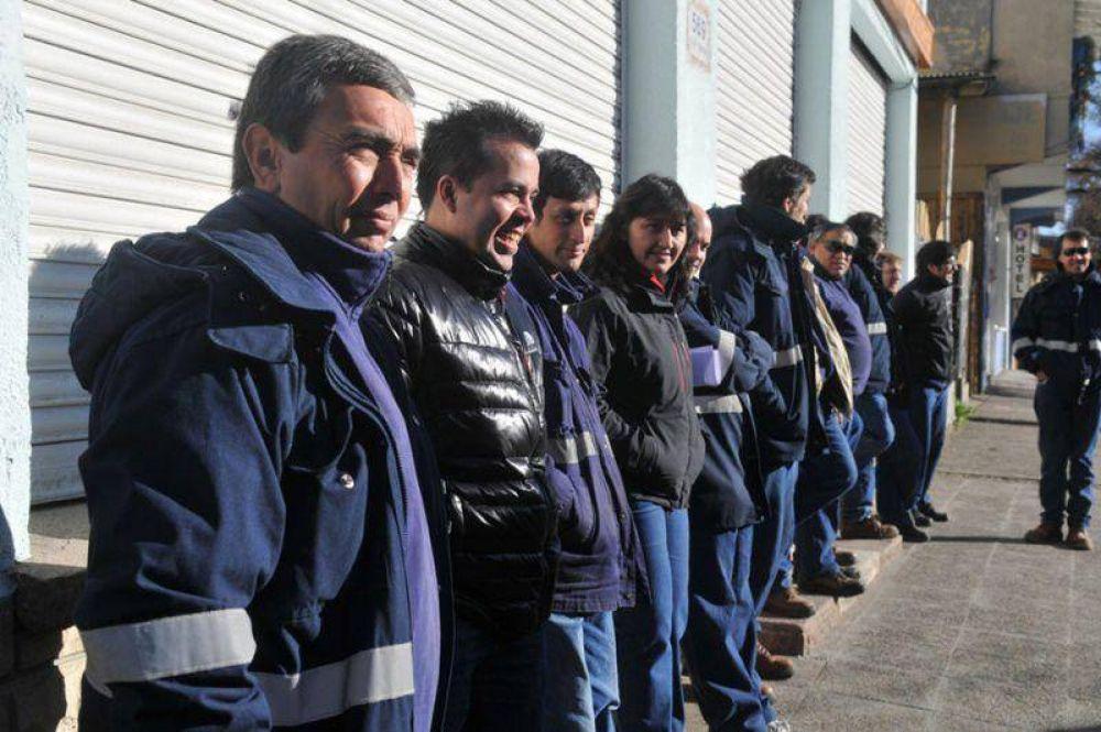Trabajadores de Camuzzi Gas del Sur con medidas de fuerza