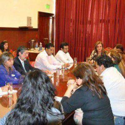 Parlamento Juvenil: la Comisión de Cultura y Educación se reunió con representantes de las escuelas capitalinas y de Palpalá