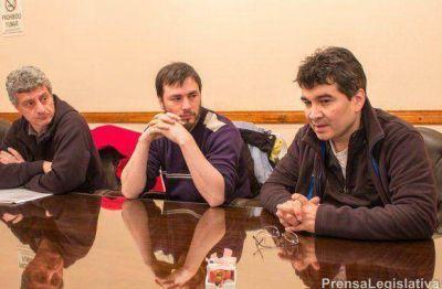 LEGISLATURA: Reunión con gremios SUTEF, AFEP y SIPORSA