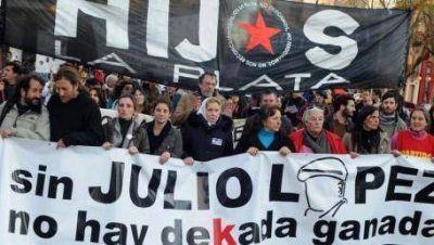 A 8 años, el reclamo por Julio López vuelve a la calle