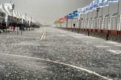 El temporal impidió a Pezzucchi ratificar su buen arranque