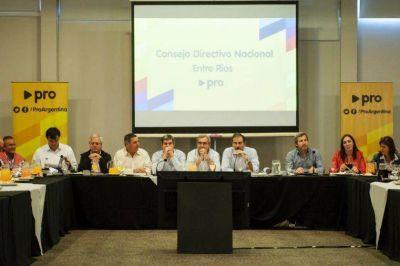 El PRO ratifica competir con candidatos propios y posterga alianzas