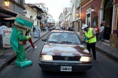 """La """"Revolución Verde"""" apuntó a los conductores"""