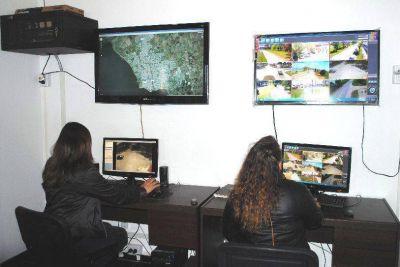 CHASCOMÚS: Se realizó la inauguración del Centro Municipal de Monitoreo y Video Vigilancia