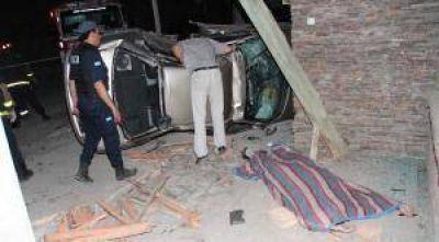 El primo del intendente de Zonda murió en un choque