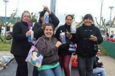 LA FAMILIA MARCHIQUITENSE RECIBIÓ A LA PRIMAVERA EN LAS PLAZAS