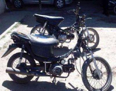 Operativo de control: secuestran dos motos en Recreo