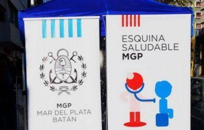Esquinas Saludables en dos puntos del Barrio Belgrano