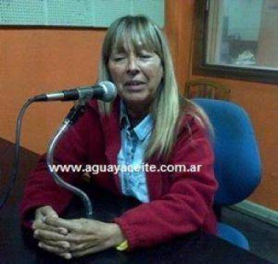 Alicia Zubiria le da un toque de glamour al Frente Renovador