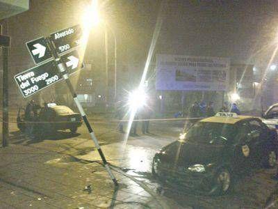 Asesinan a un taxista de un tiro en un intento de asalto