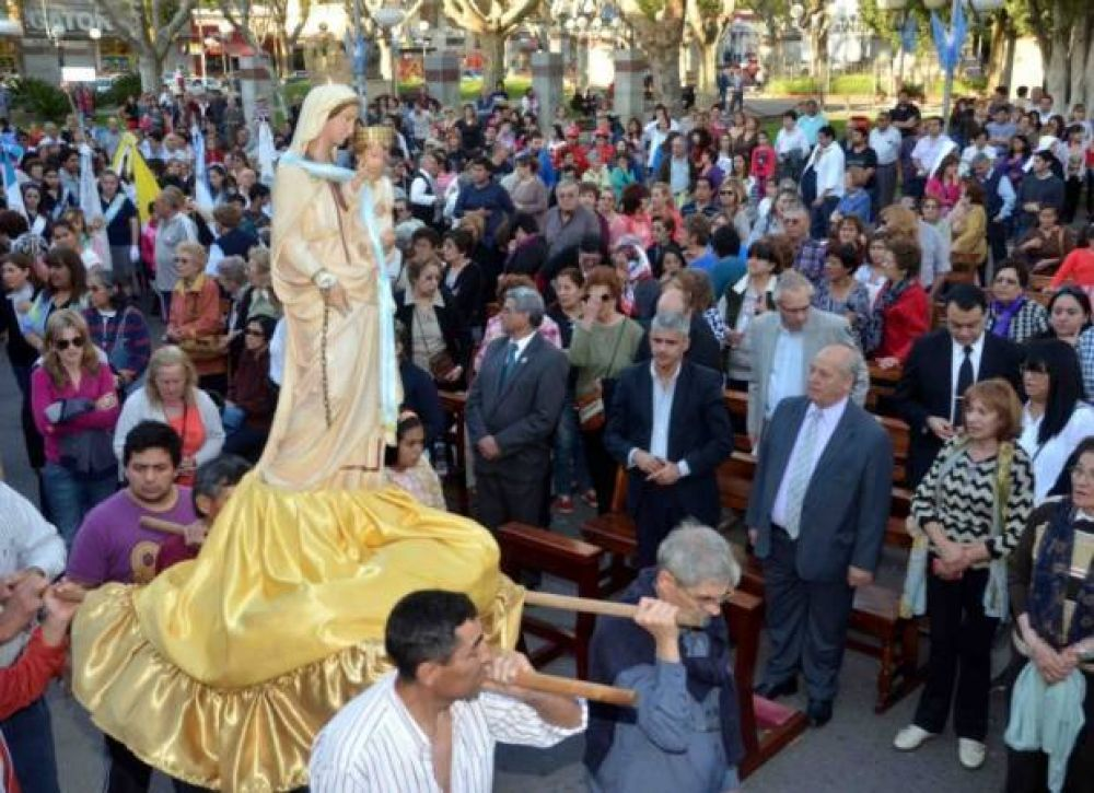 Villa Mercedes homenajeó a su Santa Patrona