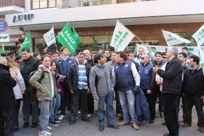 Paro nacional de los trabajadores impositivos