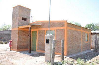 Habilitaron nuevas Viviendas Sociales en el Departamento Moreno
