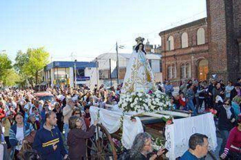 La ciudad se vistió de fiesta para celebrar el Día de Nuestra Señora de la Merced