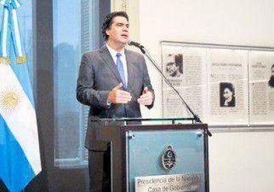 Capitanich criticó a Rodríguez