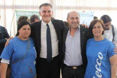 Castagneto firmó un convenio de cooperación con Secco para la implementación del Argentina Trabaja