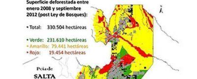 Casamiquela y Urtubey, no hablaron de la Ley de Bosques