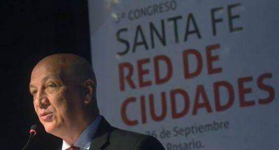 Bonfatti abrió el 3º Congreso Santa Fe Red de Ciudades