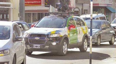 Ya se pueden recorrer las calles de Bahía Blanca a través de Google Street View