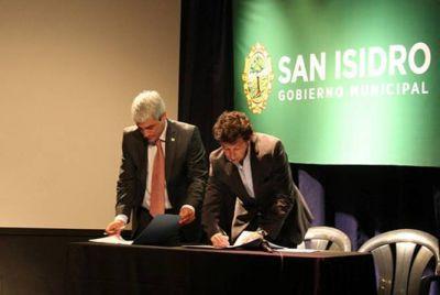 San Isidro firmó un convenio a favor de los derechos de los niños