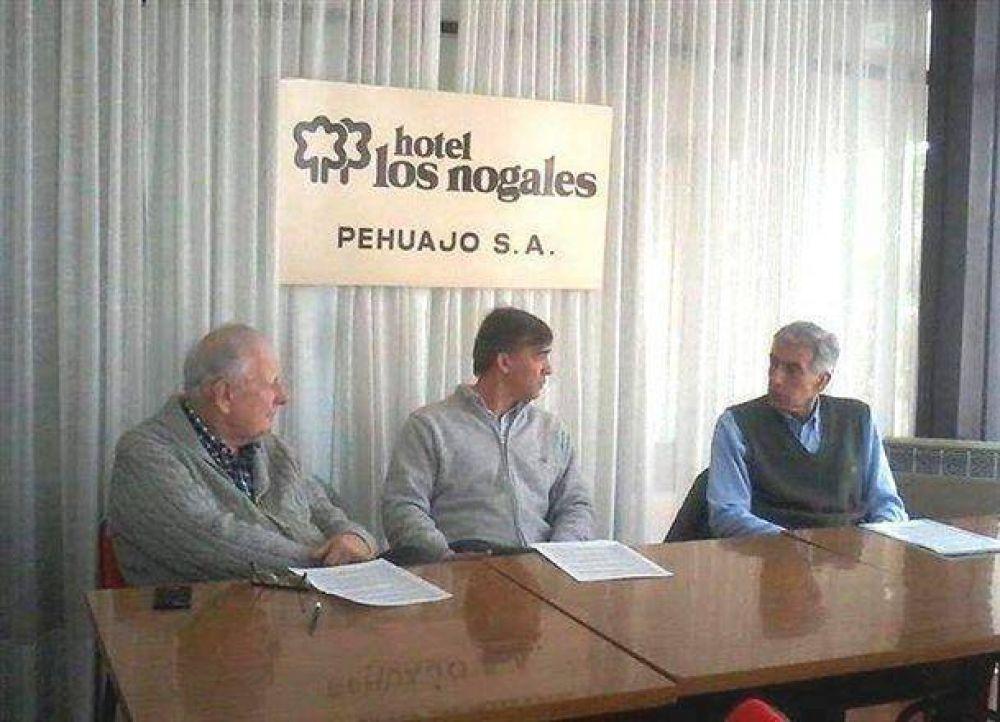 El senador provincial por la UCR, Gustavo de Pietro, visitó Pehuajó