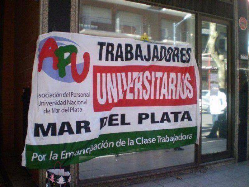 Desde este lunes y hasta el jueves paran los trabajadores universitarios