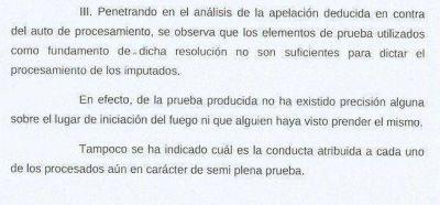 Estrada admitió que Lafuente tuvo error de forma y no desconocimiento del derecho