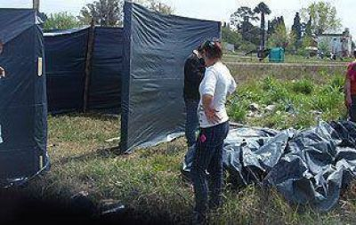 Unas 120 familias ocuparon un terreno en Glew