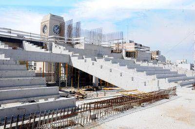 Avanza a paso acelerado la obra del centro comercial y cultural