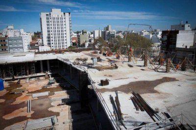 Avanzan las obras del nuevo centro comercial de Mar del Plata