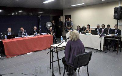 Duras declaraciones de la única mujer detenida en Monte Peloni